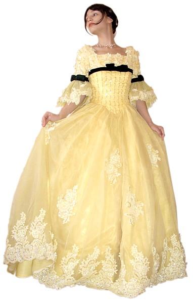 платье в розах свадебное