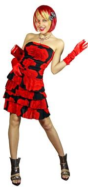 Клубные костюмы женские